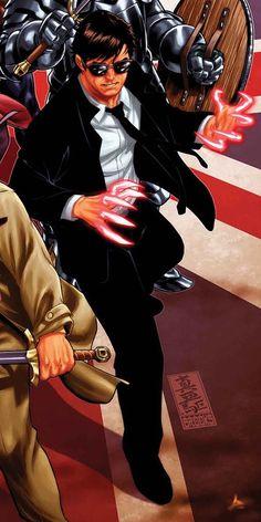 Peter Wisdom (Earth-616) - Marvel Comics Database