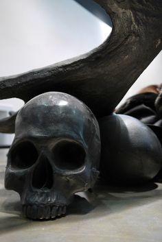 Vosgesparis Skull art by Rick Owens
