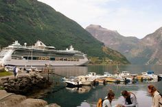 Photo Caption: Summer cruise to Geirangerfjord on Royal Caribbean's Jewel of the Seas. What You'll See: A 7-night Norway cruise round-trip from Copenhagen stops in Flam, Hellesylt/Geiranger, Bergen, Stavanger, and Oslo, with one day at sea. Best Time to Go: May through September for the warmest weather.  Cruise Lines to Consider: Hurtigruten,  Crystal Cruises, Oceania, and Royal Caribbean.