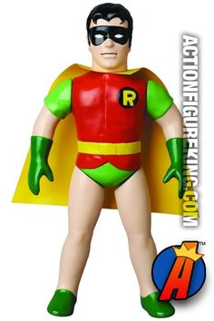 10-inch scale #Sofubi #ROBIN Figure from #Medicom. See more like this here… http://actionfigureking.com/list-3/medicom2/sofubi-from-medicom/medicom-dc-comics-super-heroes-sofubi-robin-action-figure