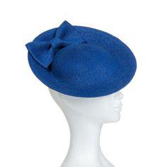 Chapeau de cérémonie et de mariage miss scarlett adapté au couffure avec…