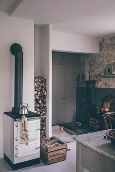 Our Countryside Home in Support with Grohe Sense System Beautiful Kitchens, Beautiful Homes, Gray Interior, Interior Design, Hygge Home, Slow Living, Decoration, Decorating Your Home, Countryside