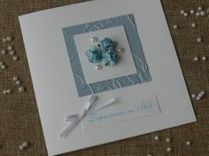Niebieskie róże, niebieska podkładka