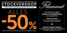 Stockverkoop Flamant -- Geraardsbergen -- 27/04-28/05