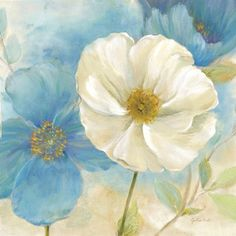 Metaverse Art Watercolor Poppies I by Cynthia Coulter Gallery Wrapped Canvas Wall Art - JCPenney Watercolor Poppies, Arte Floral, Canvas Artwork, Illustrations, Online Art, Art Decor, Fine Art Prints, Collage, Turquoise