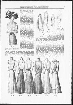 Gracieuse. Geïllustreerde Aglaja, 1910, aflevering 10, pagina 164/9