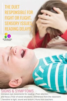 Retained Primitive Reflexes that Cause Sensory Sensitivities, Reading Delays, Fear and Fight or Flight   ilslearningcorner.com