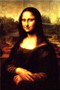 Mona Lisa by Leonardo da Vinci, c.1505 -14
