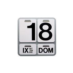 Formosa Perpetual Calendar by Enzo Mari for Danese Milano Magazine Design, Graphic Design Magazine, Bauhaus, Tom Dixon Etch, Enzo Mari, Leather Folder, Identity, Copper Pendant Lights, Calendar Design