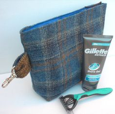 Men's Toiletry Bag Madog by RitzySwish on Etsy, £14.25