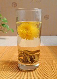 Premium Jasmine Dragon Pearls Green Tea mixed Huizhou Emperor Chrysanthemum Tea