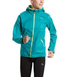 Women's Running Windbreaker: Women's Running Windbreaker: This highly functional windbreaker from PUMA Running will have the wind gods looking for a new day job! It provides maximum support so that - when it gets windy - you don't have to make any compromises when it comes to your training and running sessions.  windCELL keeps the wind out: Highlyfunctional materials provide you a durable yet breathable protectionagainst wind-chill, while helping you to maintain your body temperature ata…