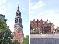 Visite de la ville de Hambourg, en Allemagne.