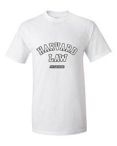 76bdce4183f33 Harvard Law Just kidding Funny Humour T-Shirt