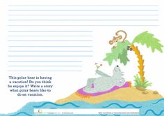 Worksheets: Polar Bear Story Starter