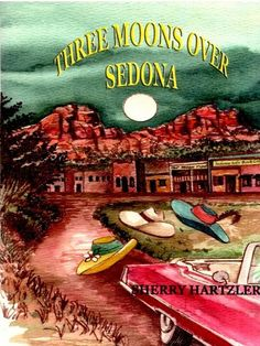 Free Kindle Book For A Limited Time : Three Moons Over Sedona - Georgia Mae Brown has always lived an ordinary life. That is, until her husband dies in the arms of a younger woman. Six weeks after his death, Georgia slides behind the wheel of her husband's beloved 1976 Fleetwood convertible, starts the engine and just keeps driving. Empowered by a volatile mix of freedom and retribution, Georgia begins a journey of a lifetime. Traveling two thousand-miles to Sedona, Arizona, Georgia finds wo...