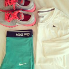 Running Outfit...i have those shoes:)