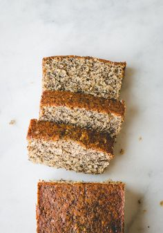 The most amazing poppy seed cake with orange and coconut