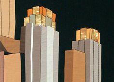 Short Stories: Art Deco Cityscape on Etsy