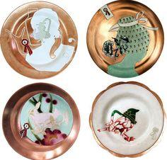 by hella jongerius Ceramic Plates, Ceramic Art, Decorative Plates, Theme Design, Hanging Plates, Clay Design, Objet D'art, Interior Styling, Contemporary Design