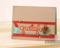 Burlap Background, Fine Check Background, Falling Leaves Die-namics, Words of Gratitude Die-namics, Diagonal Stripes Stencil - Kimberly Crawford #mftstamps