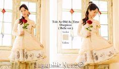 New Secret Honey Disney Belle Beauty & The Beast Old Time Tale White Ball Dress #SecretHoney
