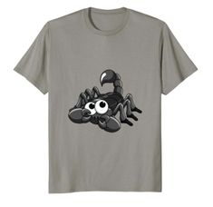 Cute Scorpion T-Shirt for kids and adult arachnid lovers! A perfect gift for girls and boys on their birthday, on Christmas or anytime they want to show their love for our arachnid friends. Lucky Blue, Cute Tshirts, Pet Clothes, Scorpion, Gifts For Girls, Kids Girls, Cute Animals, Lovers, Bear