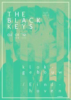 The Black Keys by MARK NIEMEIJER, via Behance