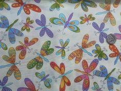 Dragonfly Fabric £2.00