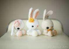 Conejo Amigurumi Patron Gratis : Patrones amigurumis gratis patron conejos amigurumi bunnies