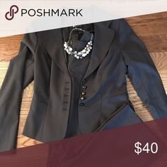 The Limited pant suit Brown pant suit size 6 jacket, size 4 pants The Limited Other