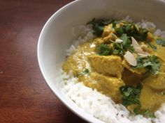 I love a creamy, buttery curry, but I do accept that these are only things that can be eaten very occasionally if you are on a weight-loss journey. You can still enjoy your favourite curries, you just need to make a few simple changes- and they still taste great! This korma is an easy recipe and to me it still really feels like a treat.  var ...