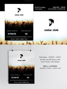 Noise Club Party Flyer