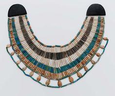 Broad collar  Egyptian Middle Kingdom, Dynasty 12 1991–1783 B.C.  Findspot: Egypt, Deir el-Bersha, Tomb 5 E