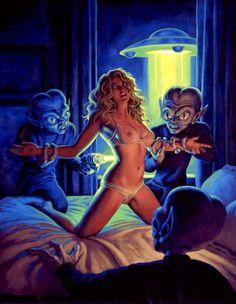 Greg Hildebrandt - Alien Abduction
