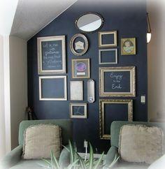Decorar con sencillez y originalidad. Ejemplos para decorar con marcos vacíos #esmadeco