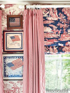 A Patriotic Summer House in Maine- The Glam Pad