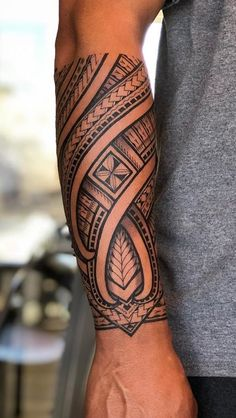 60 Tattoos Forearm Tattoos For Men - Pictures and Tattoos maori tattoo - maori tattoo women - maori Maori Tattoo Arm, Tribal Forearm Tattoos, Forarm Tattoos, Tribal Tattoos For Men, Tribal Sleeve Tattoos, Irezumi Tattoos, Marquesan Tattoos, Body Art Tattoos, Tattoos For Guys