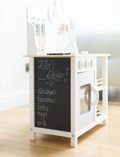 Play Kitchen. White Play Kitchen. Stylish Play