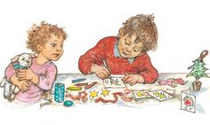 """""""Alfie's Christmas"""" by Shirley Hughes"""
