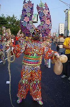 Carnival Masks of the Dominican Republic by Ivan Erickson