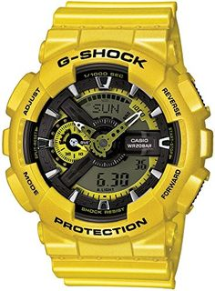 Casio G-Shock Yellow Analog Digital Dial Resin Quartz Male Watch This is a  brilliant new twist of the already popular series featuring a unique bold  ... c51e817d42