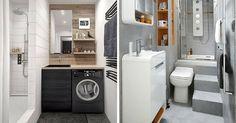 Aménagement Petite Salle de Bain : 34 Idées à découvrir pour savoir comment aménager une petite salle de bain (PHOTOS ET ASTUCES)