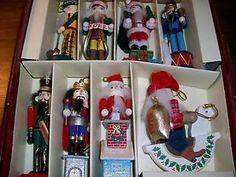 bombay company nutcracker ornament set