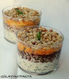 gülay mutfakta: Üç Renkli Kereviz Salatası