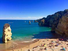 #coastline #portugal #lagos #algarve #praiadana