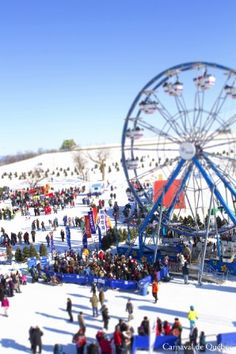 Fun on the plains of Abraham | Quebec's Winter Carnival - Carnaval de Québec