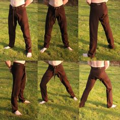 Hand sewn wollen Thorsberg trousers. Made by Henrik Nordholm…