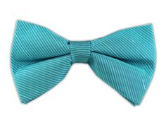 Fountain Solid - Ocean Blue (Linen Bow Ties) | Ties, Bow Ties, and Pocket Squares | The Tie Bar