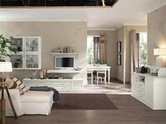 Brown and white combination